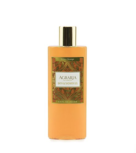 Agraria San Francisco Bath & Shower Gel, Bitter Orange, 8.45 fl. oz.