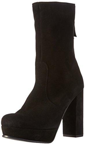 Kennel und Schmenger Schuhmanufaktur Amina - botas de caña baja con forro cálido y botines Mujer Negro (schwarz 380)