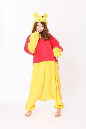 Winnie Pooh - Todo en un disfraz para adultos - Onesie Kigurumi