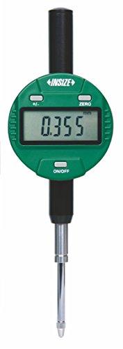 INSIZE 2116-25F Metric Digital Indicator, Flat Back, 25.4 mm, Resolution 0.01 mm