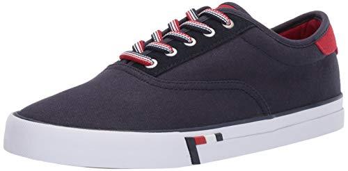 Tommy Hilfiger Men's Pitne Sneaker, Dark Blue, 10 Medium US
