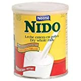 Goya Nido Instant Dry Whole Milk, 32 Ounce -- 12 per case.