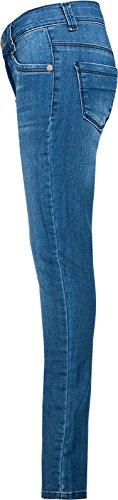 Denim Effect Jeans Blue Skinny niña Blue Fit CYUBwxR0Yq