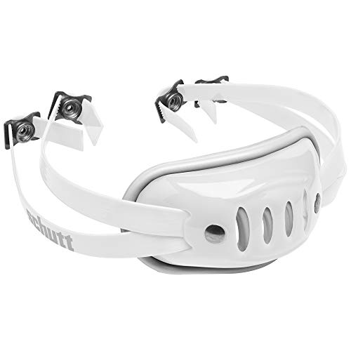 Schutt Sports SC-4 Hard Cup Chinstrap for Football Helmet, White, Varsity