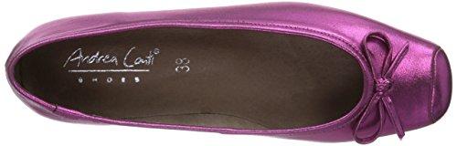 Andrea Conti 0599411028 - Bailarinas Mujer rosa - Pink (pink 028)