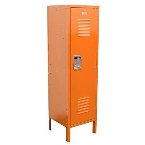 Kids Locker 15W x 15D x 54H Unassembled in 8 Amazing Colors (Orange)
