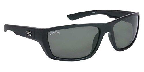 Calcutta Shock Wave Sunglasses (Black Frame/Gray - Shock Sunglasses