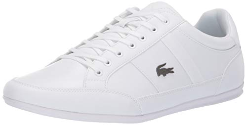 Lacoste Men's CHAYMON Sneaker White, 9 Medium US