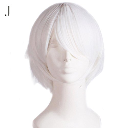 Wig,Baomabao Graduated Color Cosplay Wig for Costume Play Halloween (J) -