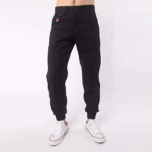 Skang Noir Homme Skang Pantalon Pantalon Homme Solid Skang Solid Noir Solid Homme Pantalon RqawxC5Exn