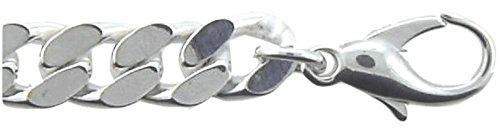 Bracelet Gourmette Plat en argent 92521cm