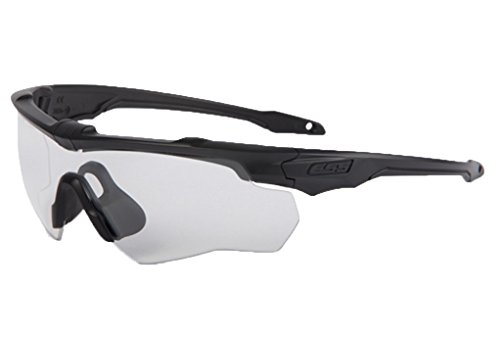 ESS Crossblade Series Eyeshield (Black, Clear)