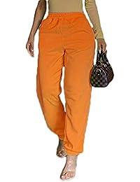 Women Tie Dye High Waist Jogging Jogger Pants with Pockets Stretch Sport Track Sweatpants Lounge Pants