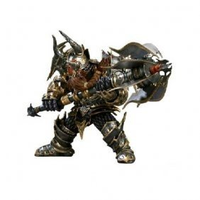 WOW World of Warcraft Series Dwarf Warrior Action Figure 7 Inch Limited Editon by PSK limited