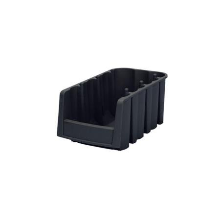 Price comparison product image Economy AkroBin - Black - 11 7/8inch (L) x 6 5/8inch (W) x 5inch (H) With Double Sided Foam Tape