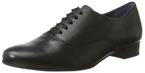 Julie Di Oxford Pinto Scarpe 01 Black Nero Stringate Blu Donna qTpxaP