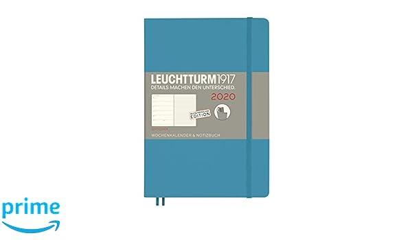 Leuchtturm1917 - Agenda y cuaderno 2020, tapa blanda, A5, 12 ...