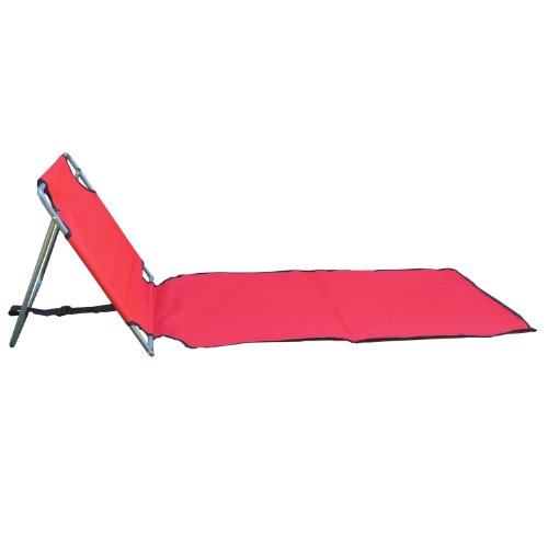 Red Portable Folding Beach Mat Chair Chairs Patio And