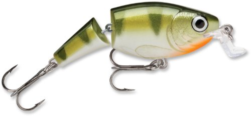 Rapala Jointed Shallow Shad Rap 7 Fishing Lure, Yellow Perch, 2-3/4-Inch, Outdoor Stuffs