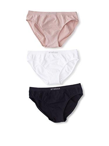blanc Basse bikini Unités Anaissa pack Taille Beige 3 Blanc noir beige Basics noir q4ttW17