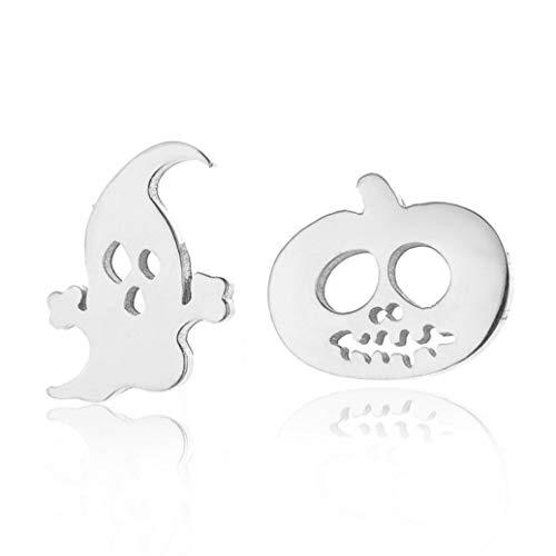 Stud Earrings for Women Punk Halloween Earrings Stainless Steel Earrings]()