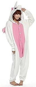 Cosplay Animal Pajamas Sleepwear Adult Unisex Onesies Halloween Costume Unicorn