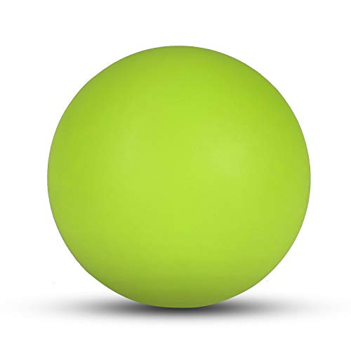 KissDate Massage Lacrosse Ball for Myofascial Release, Foot, Back, Trigger Point Treatment Ball, Muscle Knot, Yoga Therapy (Fluorescent Color)