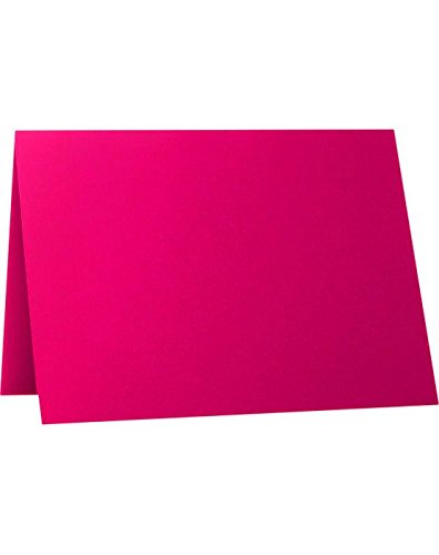 A1 Folded Card (3 1/2 x 4 7/8) - Hottie Pink (250 Qty.) by Envelopes.com