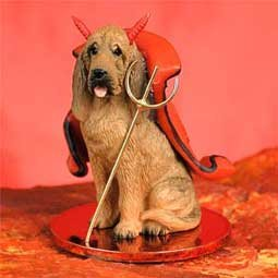 Bloodhound Little Devil Dog Figurine