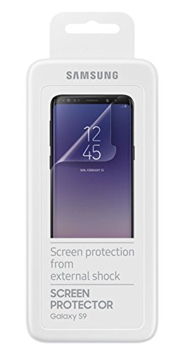 Official OEM Samsung Galaxy S9/S9+ Screen Protectors - Twin Pack (S9)