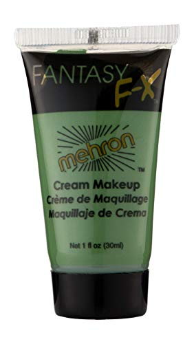 Mehron Makeup Fantasy F/X Water Based Face & Body Paint (1 oz) (GREEN) -