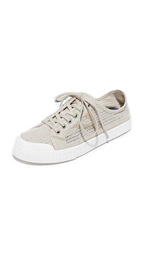 Tretorn Women's Tournet Sneaker, Sand/Sand/Tretorn White, 8 Medium US