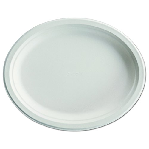 Chinet 25779 Paper Pro Oval Platters, 9 3/4