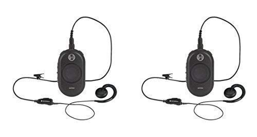 2 Pack of Motorola CLP1010 On-Site 1 Channel Two-Way Business Radio