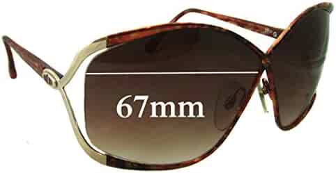 8fb494b3c1 SFX Replacement Sunglass Lenses fits Christian Dior Vintage 2056 67mm Wide