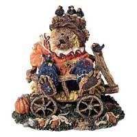 Boyds Bearstones #228373 Einstein Q. & Scaredy Bear, Halloween