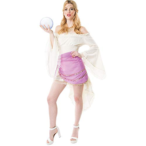 Papillion Accessories Fortune Teller Halloween Costume Accessory Kit for Women, 3 Pieces, by M&J Trimmings ()