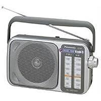 Panasonic RF-2400D AM / FM Radio, Silver photo