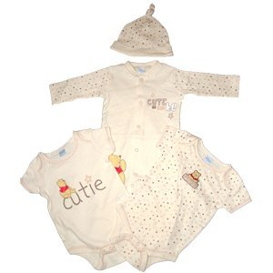 Disney Baby Clothes Gorgeous 4 piece Baby suit  cute as can be  design  Winnie 41dc8c425