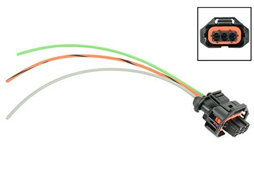 LS 3-Wire Gen 4 MAP Sensor Manifold Absolute Pressure Connector Plug Pigtail LS3 WPMAP40