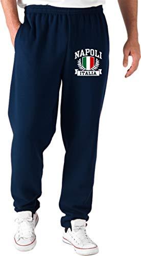 Napoli T Tuta Pantaloni Navy Italia Tstem0274 shirtshock Blu YYxwTr
