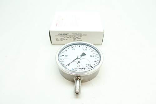ASHCROFT 10-1008-SL-02L-200# DURALIFE Pressure Gauge 0-200PSI 1/4IN NPT D661162