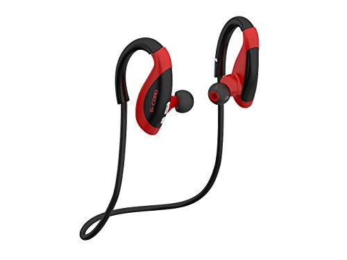 Headphones, V4.1 Wireless Earphones Sports Stereo Sweatproof Earphones for Running Gym Exercise Hands-Free Calling, Noise Cancelling Headphones