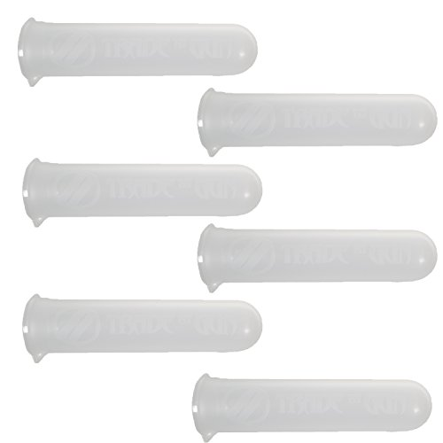(Trademygun Clear Heavy Duty 140rd Paintball Tubes 140 Round Pods (6) )