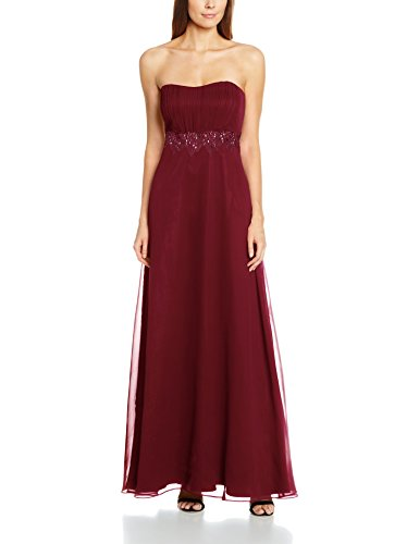 Vera Mont 0010/4825, Vestido para Mujer Rot (Dark Burgundy 4514)