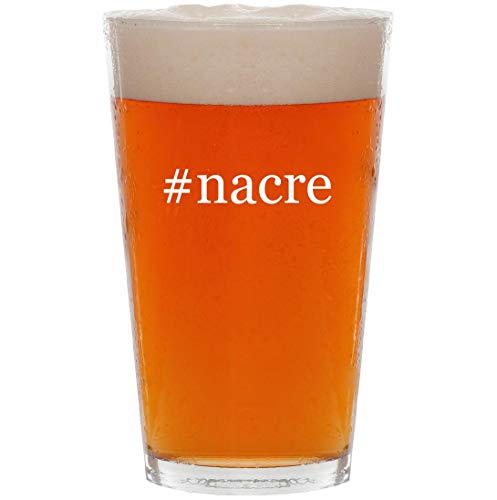 #nacre - 16oz Hashtag All Purpose Pint Beer Glass for sale  Delivered anywhere in USA