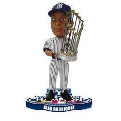 Alex Rodriguez New York Yankees 2009 World Series Champions Bobblehead