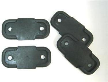 Cojines de goma para patas de máquina de coser industrial, 4 ...