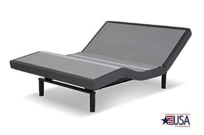 DynastyMattress 12-Inch CoolBreeze GEL Memory Foam Mattress with Scape 2.0 Performance Adjustable Beds Set Sleep System Leggett & Platt-TWIN XL