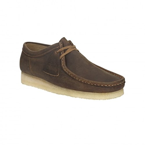 clarks-originals-wallabee-beeswax-brown-mens-shoes-9-uk